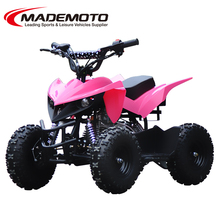 kids gas powered atvs 50cc with big wheel(quad bike AT0601)