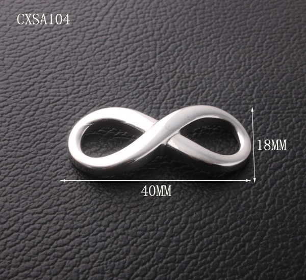 Stainless Steel Big Charm For Bracelet