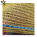 Recyclable Environmental protection PE plastic raschel firewood mesh bag