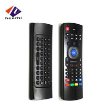 2016 Hot selling mini wireless keyboard MX3 air fly mouse for lg smart tv T3 mini keyboard