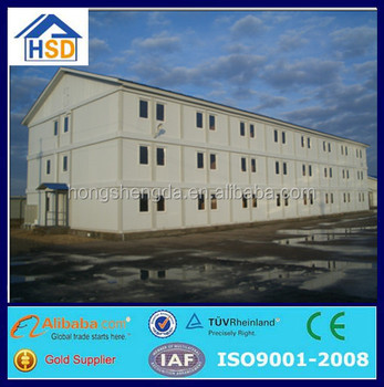 pre-made ready made mobile container homes steel structure house
