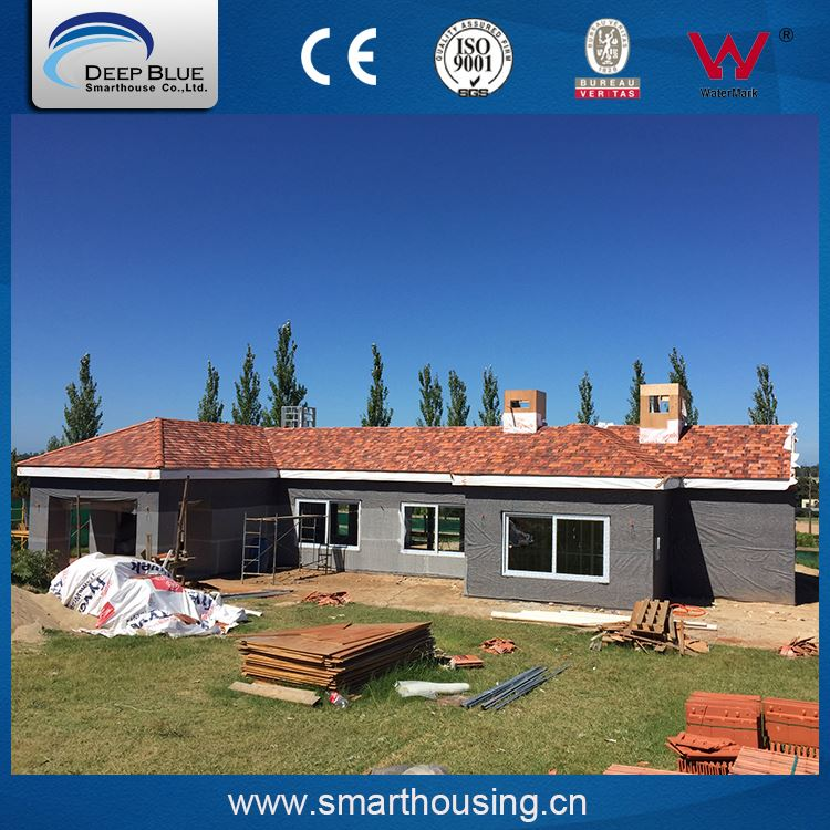 Top quality various shape colors prefabricated prefab house