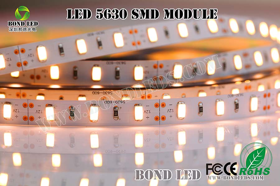 Good Quality hot sale 5630 rigid dc12v 5730 smd flexible led strip