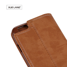 new products on china market leather mobile flip cover for iphone 5 wallet case