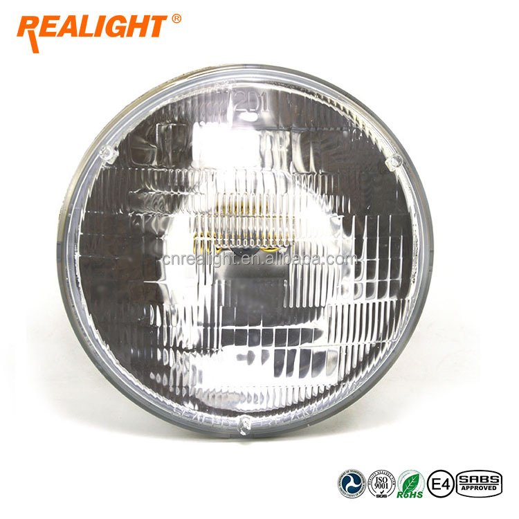 DOT Quality H6024 12.8V 40/60W 7 Inch Round Sealed Beam for Original Sealed Beam Replacement