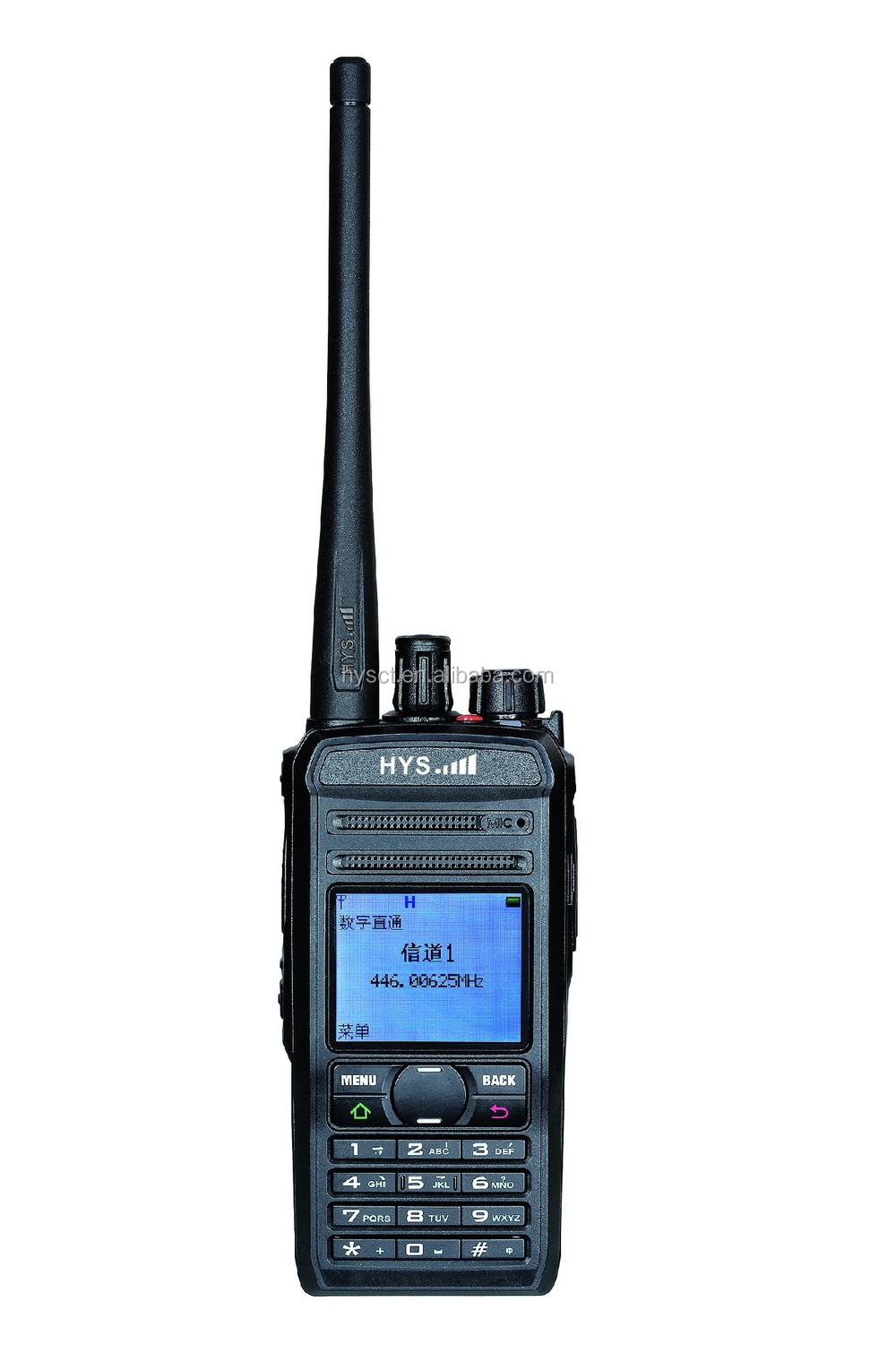 HYS TC-819DP Digital Dual Band DPMR portable Radio W/GPS