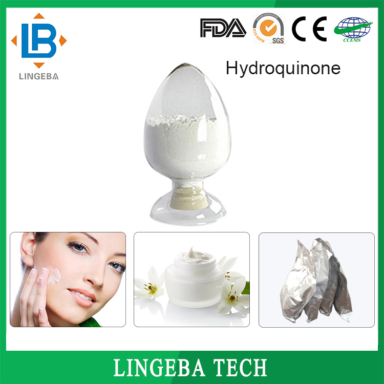 Manufacturers Cosmetic Raw Material 123-31-9 Hydroquinone Powder