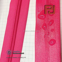 TPU Waterproof nylon zipper for diving
