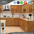 modern kitchen furniture customized pvc material kitchen cabinet for sale