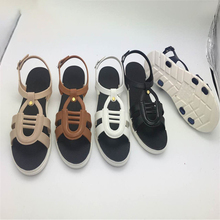 Fashion 2017 New Flat Lady Shoes Women Platform Pvc Eva Sandals Slippers