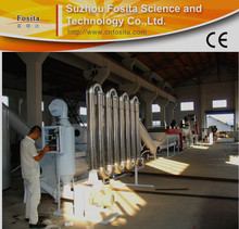 Factory price plastic films recycling system