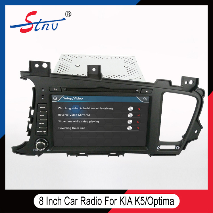 Wince 6.0 DVD Navigation For KIAK5 With AM/FM