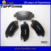 hot selling asbestos free brake pad manufacturing