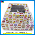 Wholesale packaging empty cupcake boxes