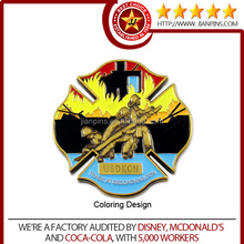 EN71-3 & CPSIA First Class Quality Custom Challenge Coin