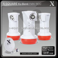 2014 x square L shape KU BAND universial single LNB