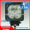 Wholesale Price!! 27W 12V LED Work Light Off road led lights offroad Guangzhou Lightstorm used mini jeep led work lamp