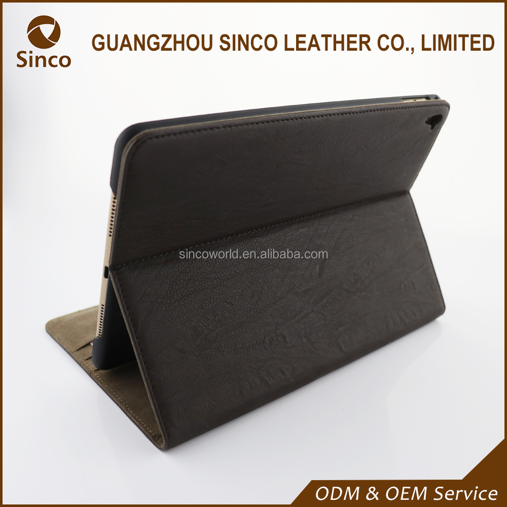 Alibaba wholesale stand leather tablet case for ipad