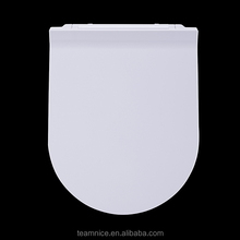 Hygienic wc sitz Slimline design uf wc slim toilet seat cover Ceramic sanitary ware Clip off wc seat