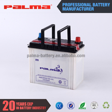 New products extraordinary dry car battery 12v 45ah