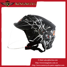 DOT approved ABS ATV half-face motorcycle helmet fits for adults for KM001