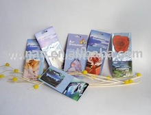 aromatic scented paper air freshner
