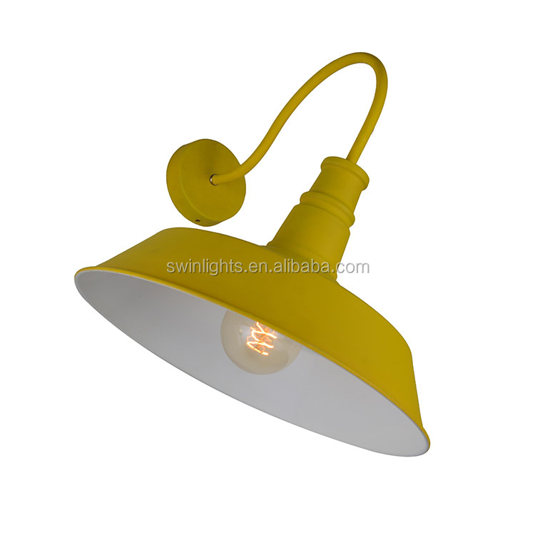 indoor decorative wall light fixtures iron wall lamp with UL/CE IW08-1