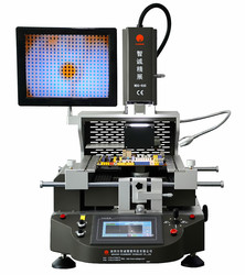 Hot air WDS-600 quick bga rework station with camera&touch screen for equipment SMD SMT remove