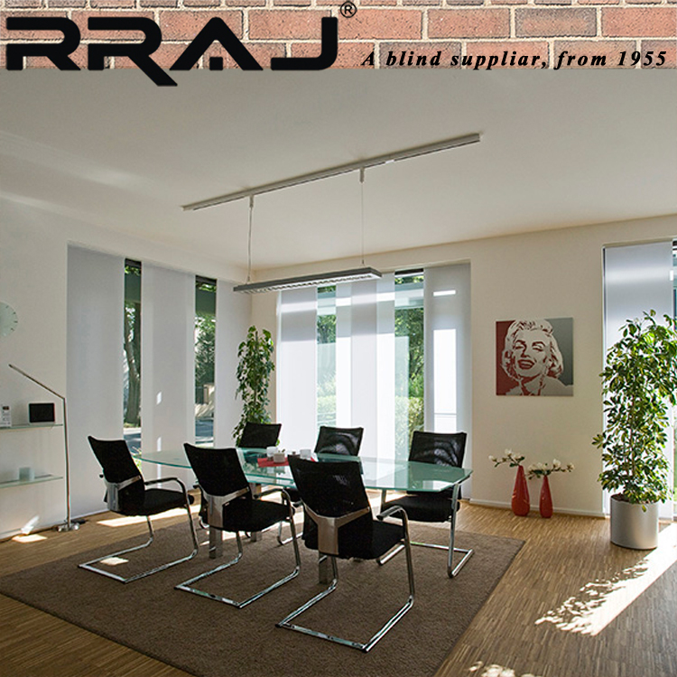 RRAJ Automated Battery Roller Blinds Curtain
