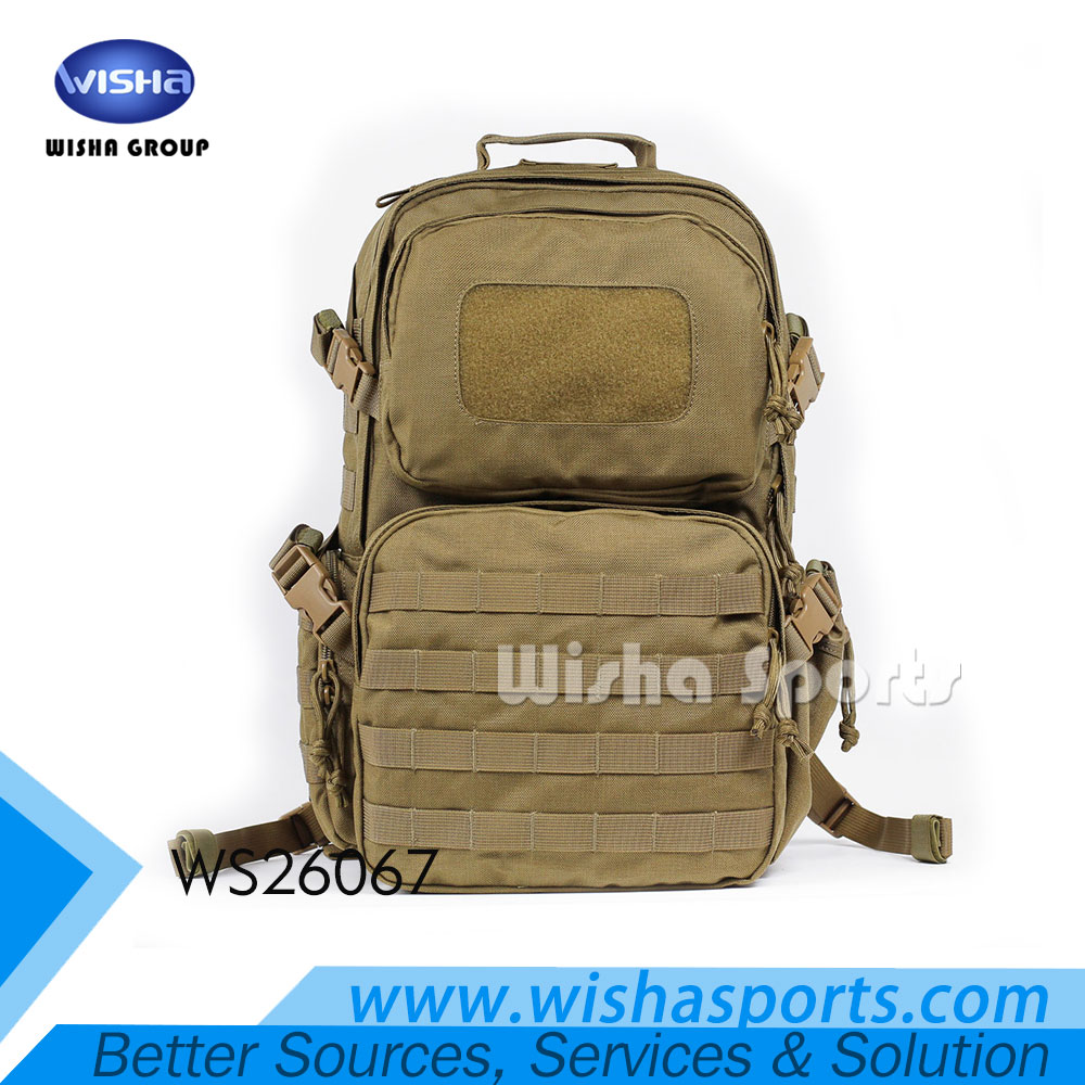 2017 Hot Sell High Quality Waterproof Military Outdoor Multi-functional Backpack with MOLLE system