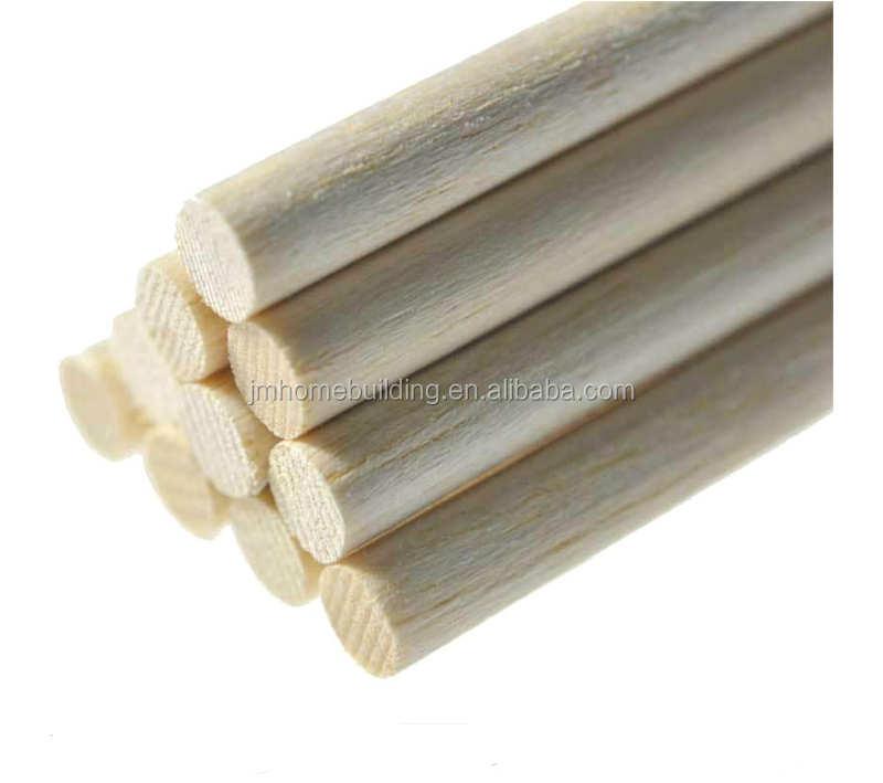Low Price wood dowel wooden dowels and rods Factory
