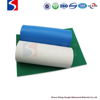 Roll waterproofing membrane / for roofs / PVC