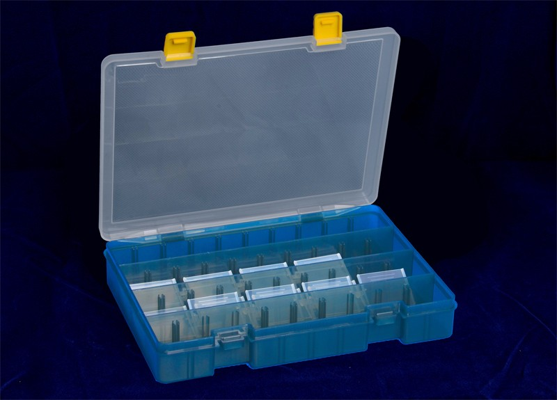 Screws Storage Boxes with 36 dividers