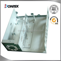 6063-T5 Aluminum sheet metal case with welding fabrication