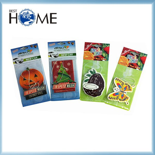 Best Seller Cheap Funny Car Air Fresheners with Own Logo