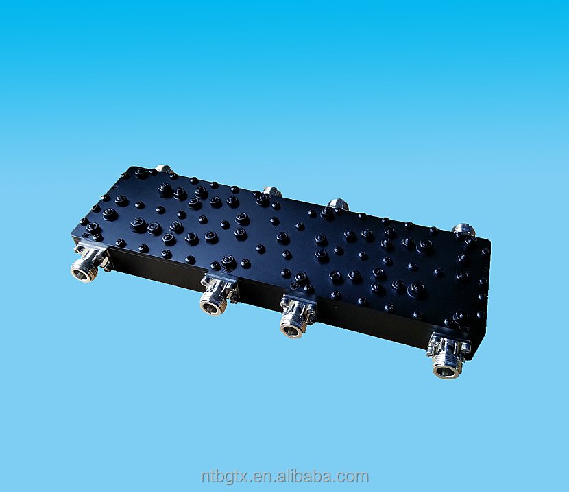 RF 4in 4out 698-2700MHz N-Female Hybrid Combiner/Coupler