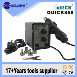 Quick 858 Cell Phone Repair Hot Air Smd Rework Station For BGA