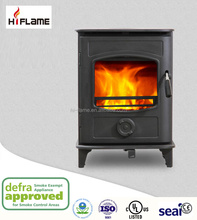 Freestanding 5 kw cheap wood burning cast iron wood stove fireplace with CE Defra