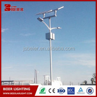 Wind and solar hybrid street lamp system High quality cheap scenery complementary led solar street lights 30w