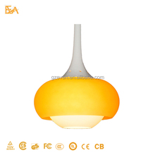 Glass Pendant Lamp Single Head Bar Hanging Light Artistic personality Led Indoor Pendant Lamps
