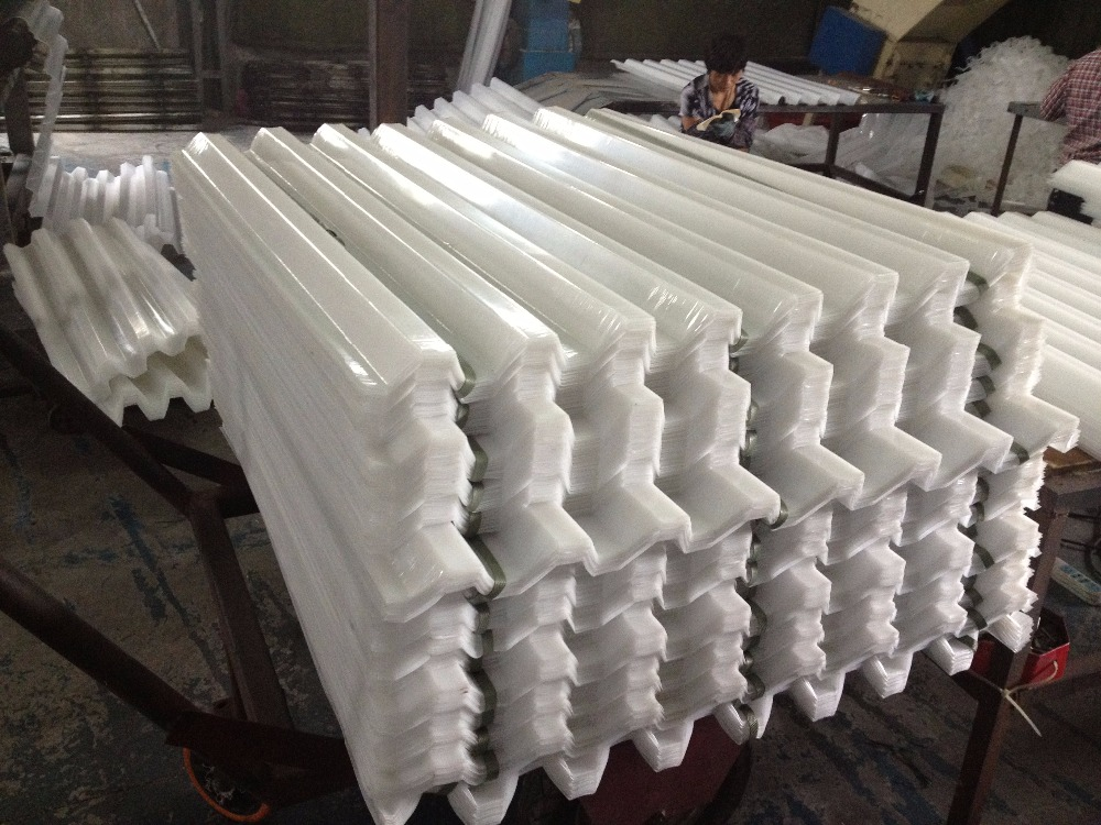 Lamella plate tube settlers for sewage treatment pool clarifier