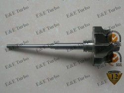 Shaft and Wheel turbine wheel T3 shaft & wheel fit single ball bearing