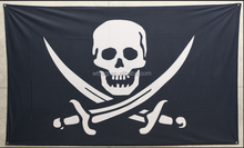 vessel Flag black flag fully polyester flag made in PRC