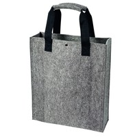 Hand made pattern felt shopping bag