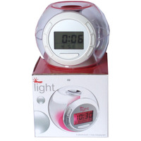 2014 Hot selling Colorful natural sound battery operated calendar clock
