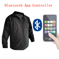 2018 hot sales best bluetooth app 5 V power bank usb heated jacket for mens womens