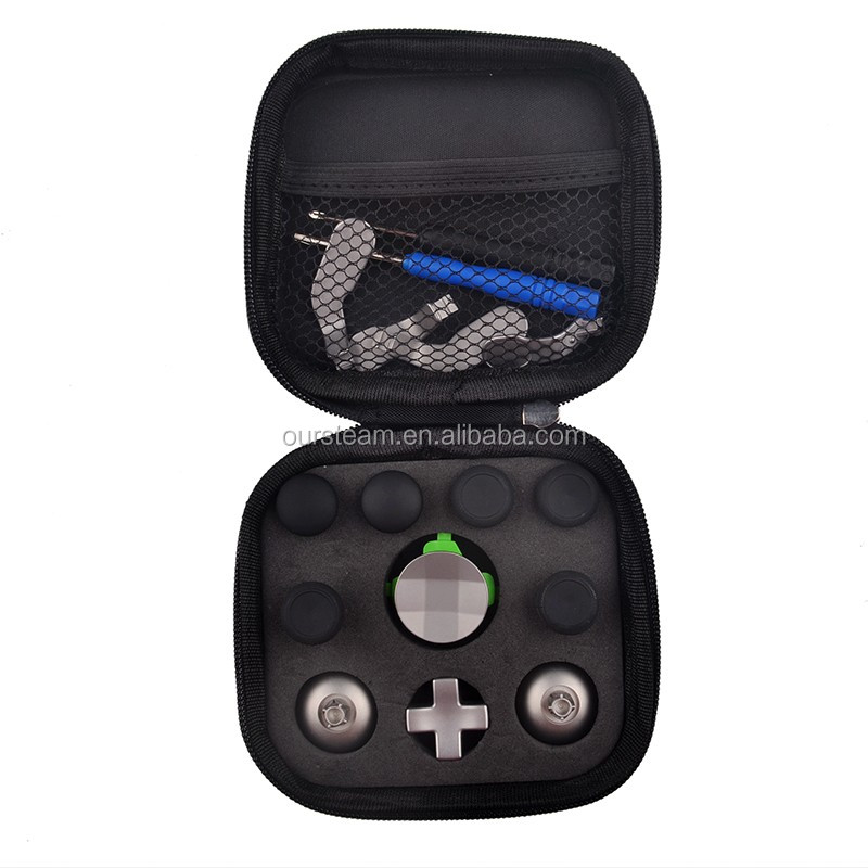 2016 New Arrivals Metal Thumbsticks for Xbox One Elite Buttons with Case