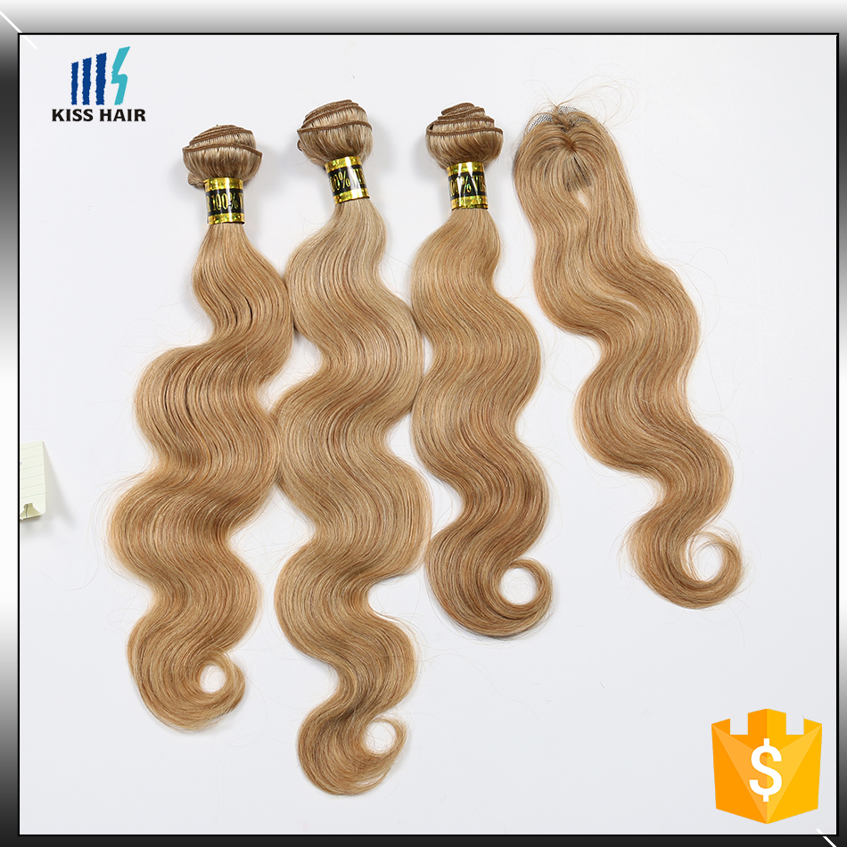 Factory Price Cheap Blonde Virgin Russian Human Hair Full Lace Frontal