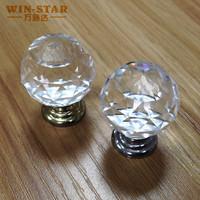 Foshan Crystal rhinestone furniture cabinet drawer handle And Knobs