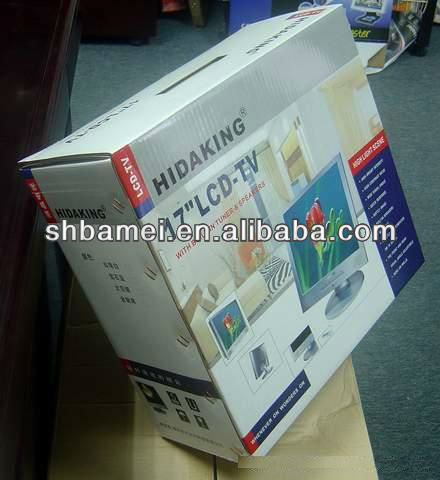 lcd tv packing box